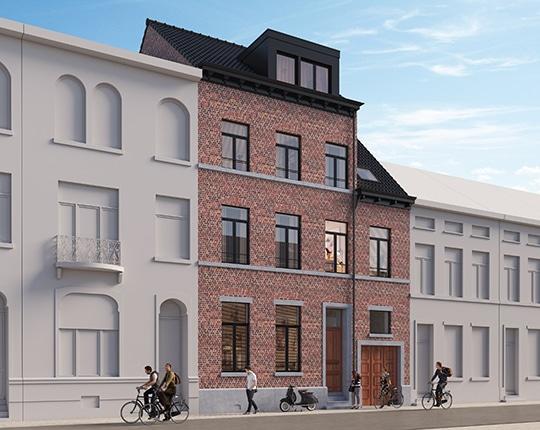 1 appartement en 10 kamers
